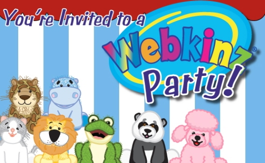 webkinz party